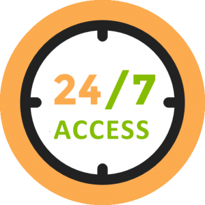 24 x 7 Studio Access